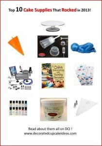 Top Ten Cake Decorator Supplies for 2013 image