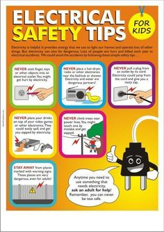 Proactively prevent accidents by teaching kids about safety now. #SafetyGuarding #ElectricalSafety