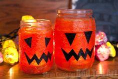 Fun and easy Halloween lanterns