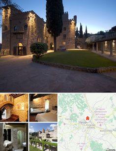 Castello di Monterone (Pérouse, Italie)