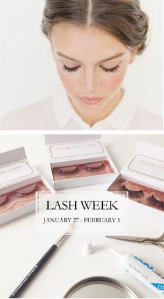 The best lash serums, natural makeup removers, mink falsies and tips for full lashes! It's #LashWeek!