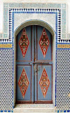 Palais el Mokri - Fes, Morocco door
