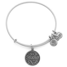 Alex and Ani Like A Mother Charm Bangle in Rafaelian Silver, A14EB22RS Alex and Ani http://www.amazon.com/dp/B00K966R70/ref=cm_sw_r_pi_dp_Brn7ub0QSPXV7