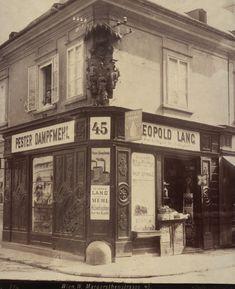 August Stauda, 4., Margaretenstraße 45 / Große Neugasse 37, 1899 © Wien Museum Documentary Photographers, Museum Collection, Vienna, World, Places, The World, Lugares