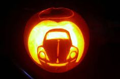 VW bug pumpkin beetle