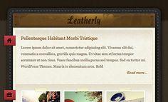 Leatherly WordPress Theme