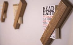 A minimal shelf to hold your fave book