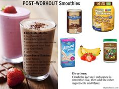 Post Workout Smoothies
