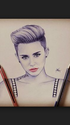 Miley Cyrus Drawing