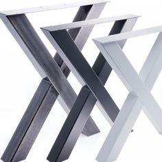 tischgestell tischbein x gestell esstisch schreibtisch tisch mbel loft stahl in mbel wohnen - Herman Miller Schreibtischtisch