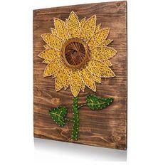 Sunflower String Art Kit