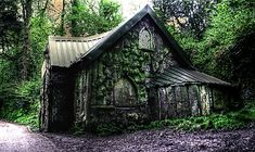 Witch house! I'm using this one as an inspiration for a Fan fiction I'm writing.