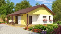 O casa cu trei dormitoare incapatoare, terasa si veranda este ideala pentru o familie cu doi sau chiar trei copii. Pretul… Archi Design, Euro, Gazebo, Shed, Outdoor Structures, Outdoor Decor, Home Decor, Houses, Kiosk