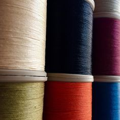 """Absolutely loving the color and quality of our Fil au Chinois """"Lin Cable"""" Waxed Linen Thread."""