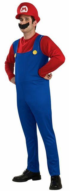 Adult Super Mario Costume