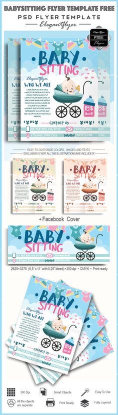 babysitting advertisement template