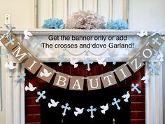 Excited to share the latest addition to my #etsy shop: Mi Bautizo Banner #baptism #mibautizo
