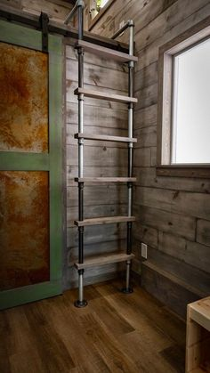 Pipe Ladder - Custom 24' by Habeo Tiny Homes