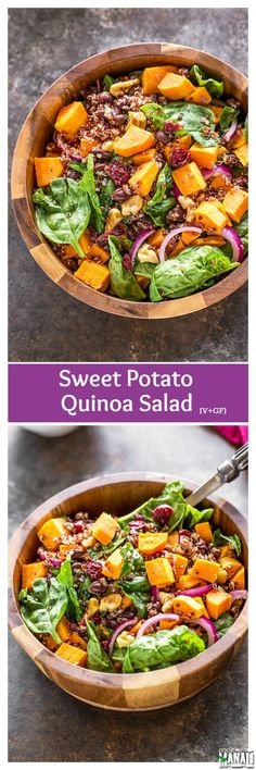 ... about Salads on Pinterest | Quinoa salad, Feta and Black bean salads