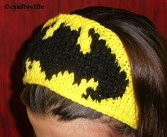 batman knitting patterns