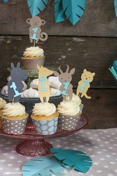 Lia Griffith | Safari Themed Birthday Party Decorations