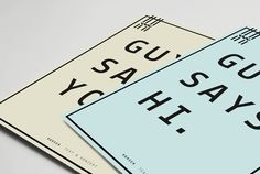 Guya Hansen Identity / Woodlake | Design Graphique