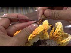 ▶ Mulher.com 25/04/2013 Cristina Luriko - Crochê tapete gomos de laranja Parte 1 - YouTube
