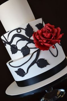 I am not sure of who is the original cake designer of this cake, but I fell in love with it and couldn't wait to give it a try. I chang...