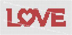 Love Pillow Crochet Graph or throw blanket pattern by StarrYarns on Etsy Graph Crochet, C2c Crochet, Crochet Pillow, Crochet Music, Pixel Crochet, Double Crochet, Single Crochet, Graph Paper Drawings, Graph Paper Art