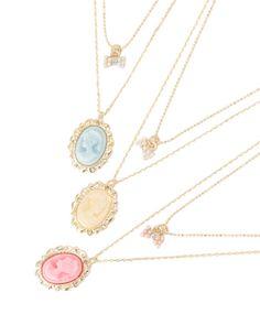 カメオリボン2連ネックレス|小物、雑貨 | 渋谷109で人気のガーリーファッション リズリサ公式通販