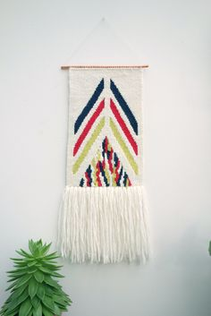Woven Wall Hanging ($104)