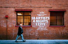 Redbull Music Academy Belfast - T-Shirt - Art Direction & Design - Jonny Costello - Adultartclub - Photo©Simon Lazewski
