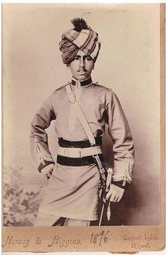 Maharaja Ganga Singh Bikaner, 1896 India