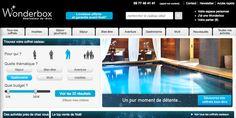 Trouver votre coffret cadeau - Wonderbox #search #website