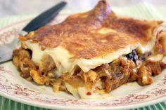 Mehevä munakoiso-tattilasagne | Kulinaari Takana, Ethnic Recipes, Food, Meal, Essen, Hoods, Meals, Eten