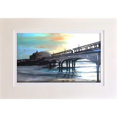 Sunset Under the Pier - Limited Giclee Print