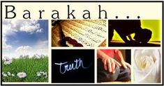 Feature Article: 18 sources of Barakah! on http://www.productivemuslim.com