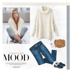 """""""Chunky Knits for Cozy Times"""" by musicfriend1 ❤ liked on Polyvore featuring Free People, Bardot, Acorn, rag & bone, Shana Gulati and Rodin"""