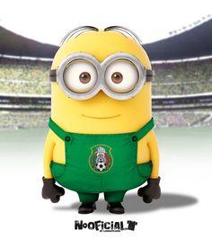 #Soccer #minion #NoOficial #LigraficaMX @Selección Mexicana