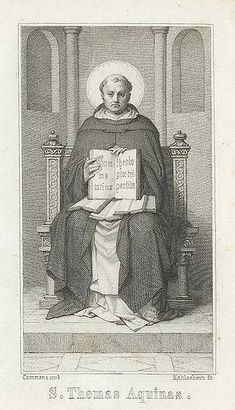 Italian philosopher, theologian, and Dominican friar, Saint Thomas Aquinas, died Catholic Art, Catholic Saints, Roman Catholic, Thomas Aquinas Quotes, Saint Thomas Aquinas, Oxford Classics, Saint Dominic, Linear Art, High Middle Ages
