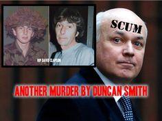 Slave #Britain: Duncan Smith's proxy murder. Ex-soldier's death due to benefits sanctions (#UK #bedroomtax #welfare #ids)