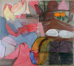 Grace Hartigan: The Dream, n.d. - Oil on canvas (Private Collection, Massachusetts)