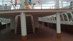 Walk through of the SS Nomadic, previously used to transfer passengers t...