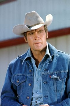 TSMDM - Hmmm, could this attire have been an inside joke (nod) to Lee Majors other classic tv role as Heath Barkley on The Big Valley???