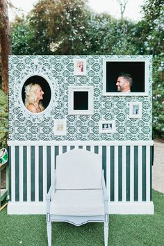 Build your own Photo Booth! | Simple, but elegant DIY wedding.