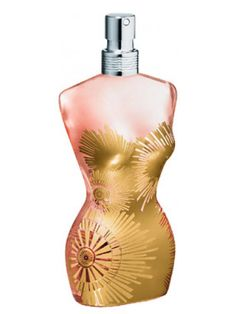 Classique Gold Collection Jean Paul Gaultier perfume - a fragrance for women 2008 Parfum Gaultier, Jean Paul Gaultier Parfum, Jean Paul Gaultier Classique, Blue Perfume, Antique Perfume Bottles, Perfume Jean Paul, Perfume Display, Purple Diamond, Agent Provocateur