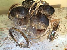 Lusterware Dorothy Thorpe Highball and Coaster Set by CottageBlu