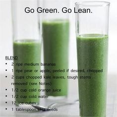 "Okay as good and healthy as this sounds sometimes it's easier to just do my ""Berry on the Go Greens""! Message Synergy for details- cheers"