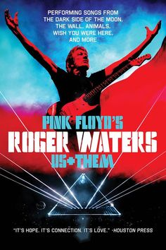 Póster de la gira Us+Them de Roger Waters (2017-2018)
