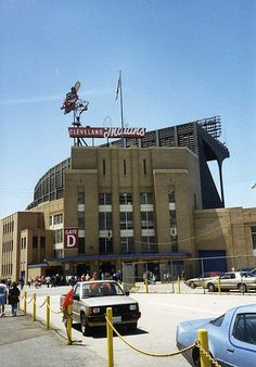 Cleveland Municipal Stadium - history, photos and more of the Cleveland Indians former ballpark Cleveland Indians Baseball, Baseball Park, Cleveland Ohio, Cleveland Browns, Cincinnati, Cleveland Concerts, Columbus Ohio, Indians Game, History Of India